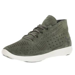 Under Armour Street Precision Mid Lux Tennis Shoes